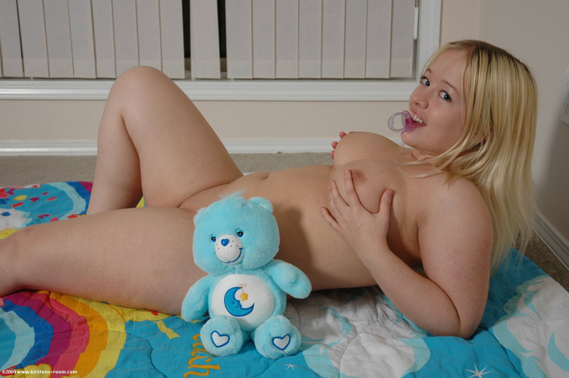 Naked young tender pussies
