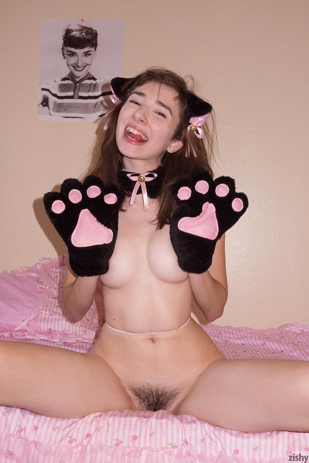 Charming Yvette nolot cat